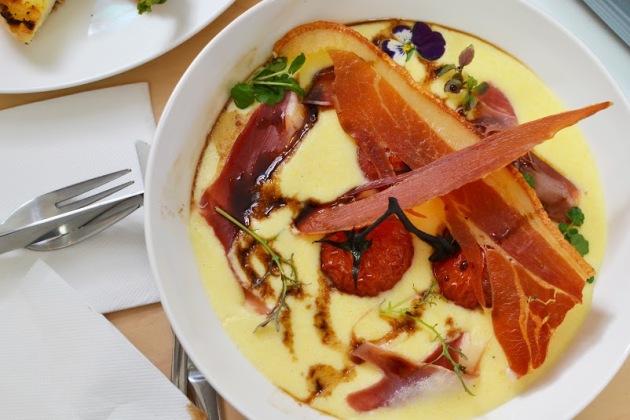 Savoury Soft Polenta with Mascarpone