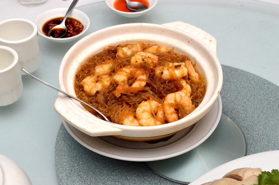 King Prawns in Vermicelli Noodles