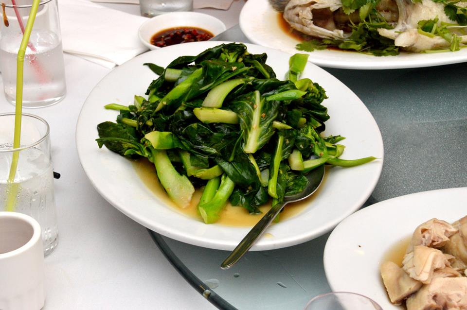 Stir Fried Asian Greens