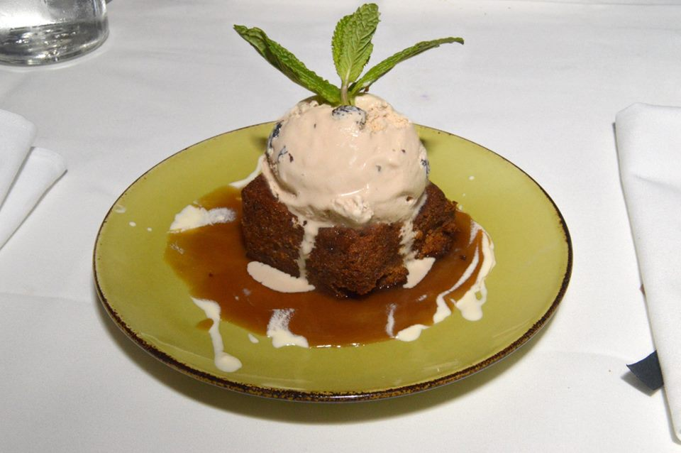 The Gully's Sticky Date Pudding
