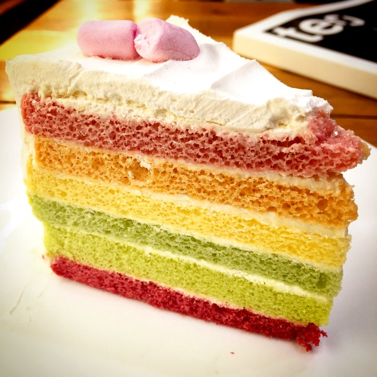 Rainbow Gateau
