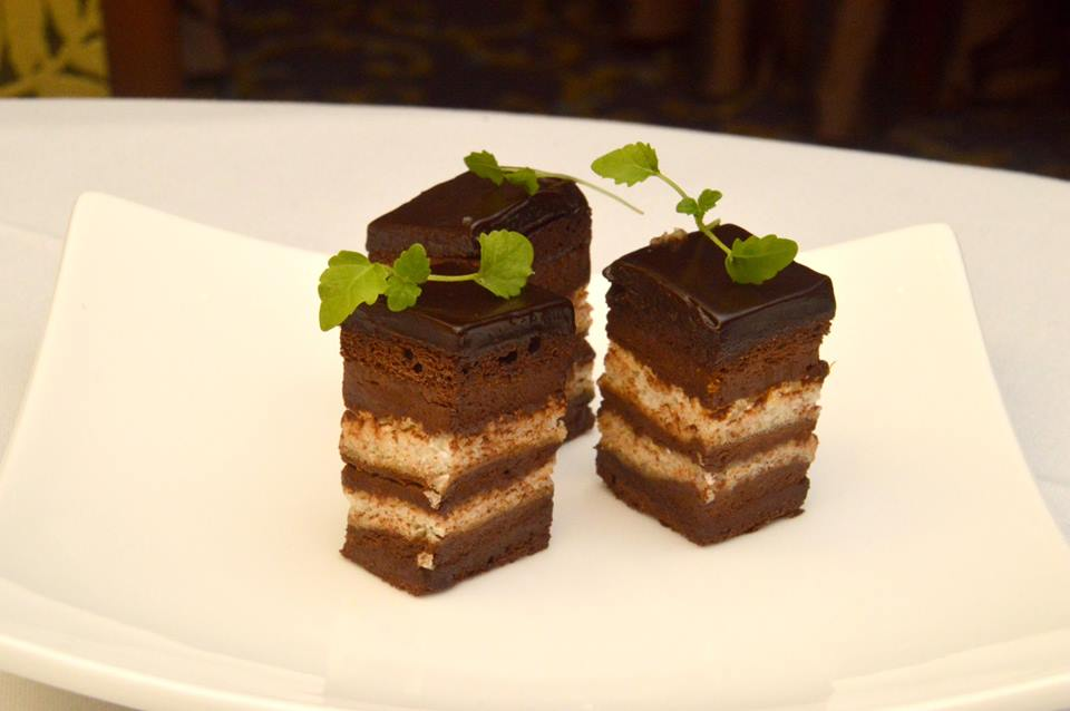 Chocolate, Hazelnut and Orange Delice