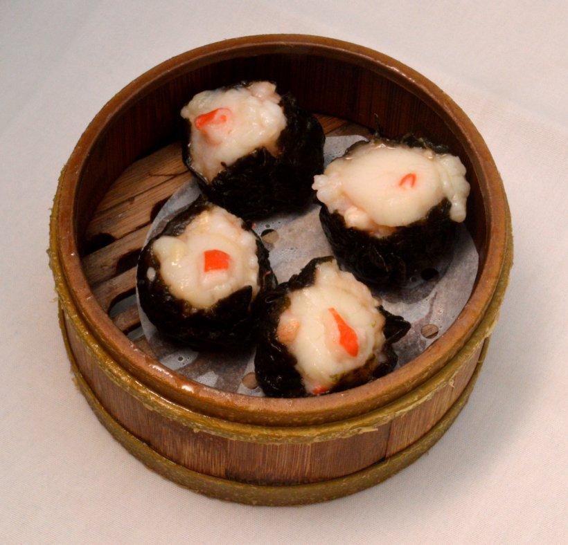 Seaweed and Scallop Dumplings