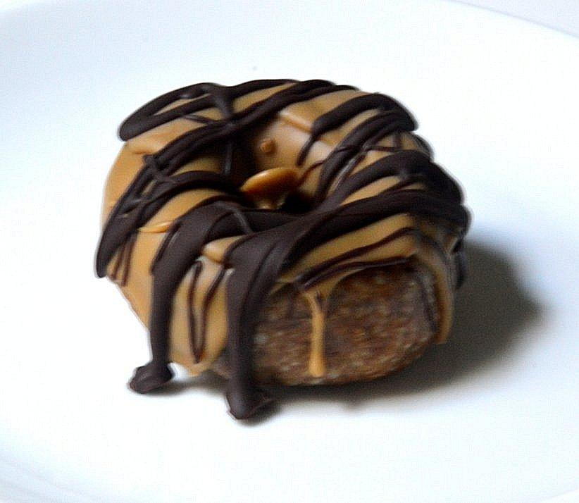 Raw Caramel Donut
