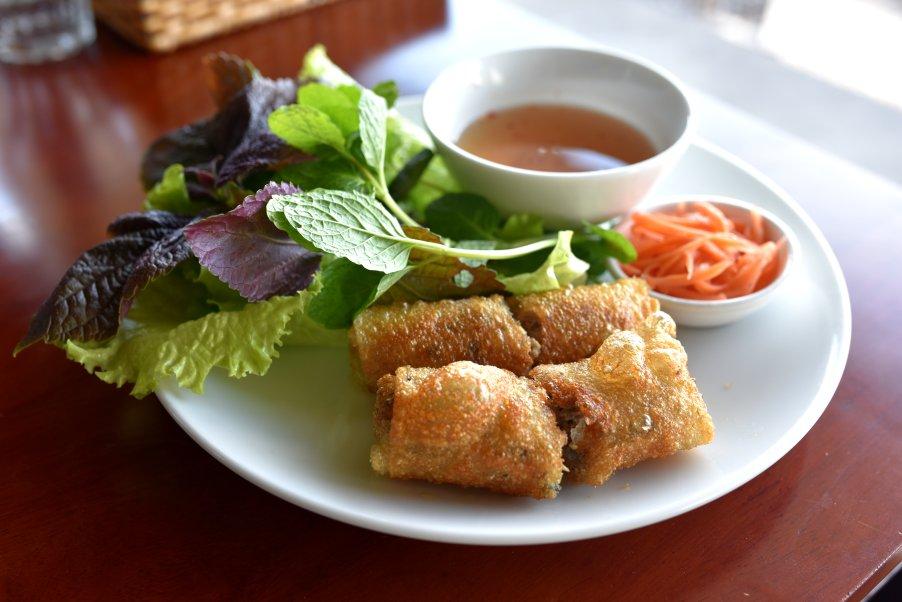 Hanoi Style Spring Rolls