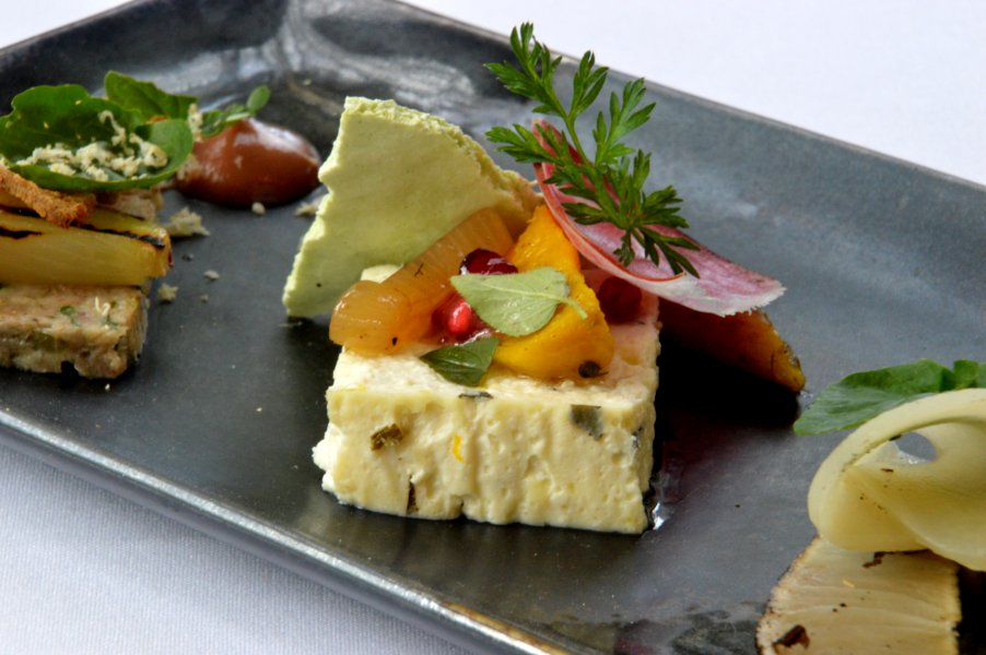 Baked Ricotta and Woodside Goats Curd