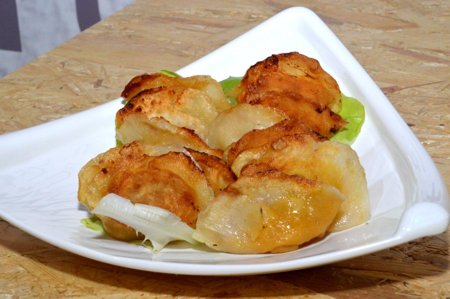 Beef and Onion Dumplings