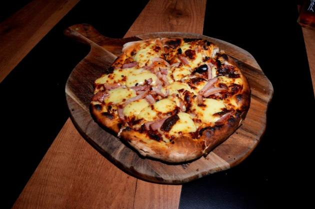 Cheezy Bacon Pizzeta