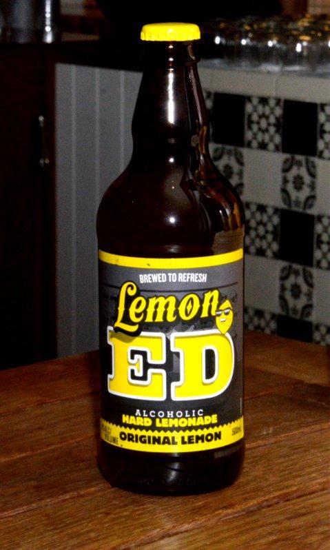 Alcoholic Hard Lemonade