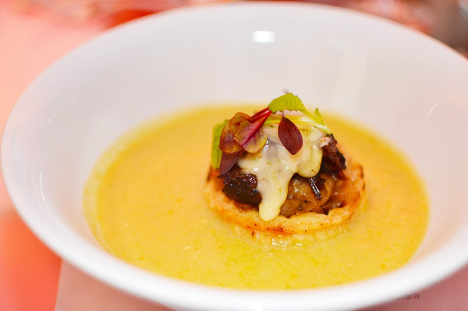 Cheddar and Parsnip Soup