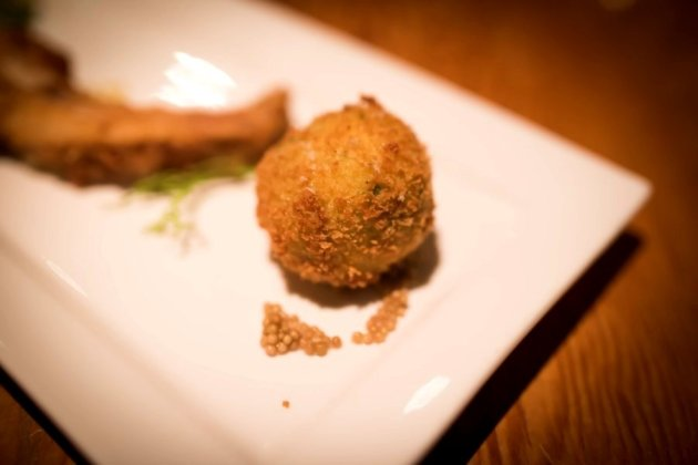 Pea and Ham Hock Croquette