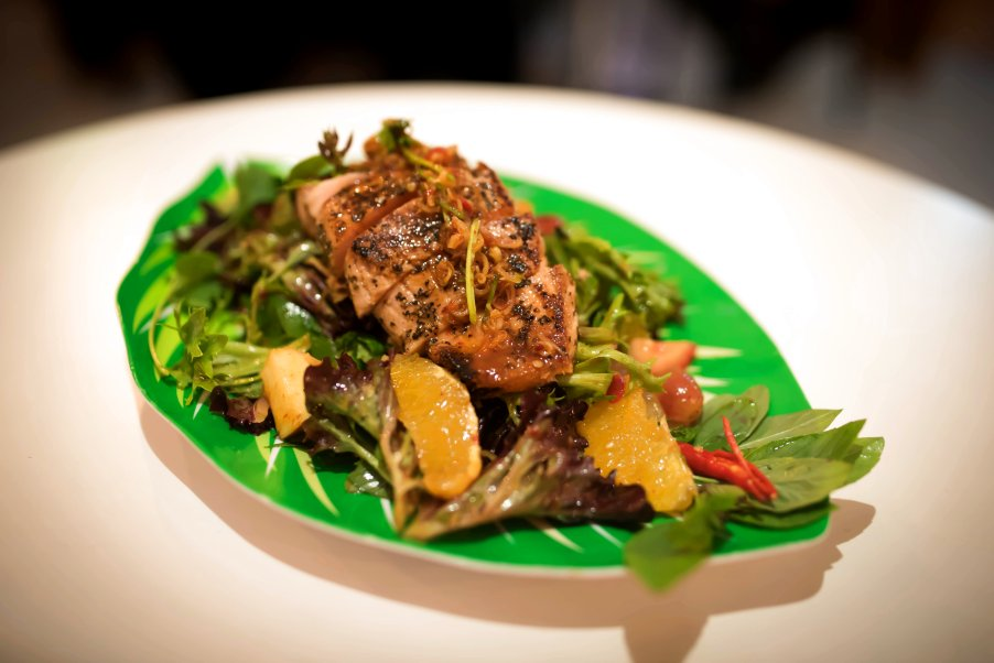 Chargrilled Salmon Salad