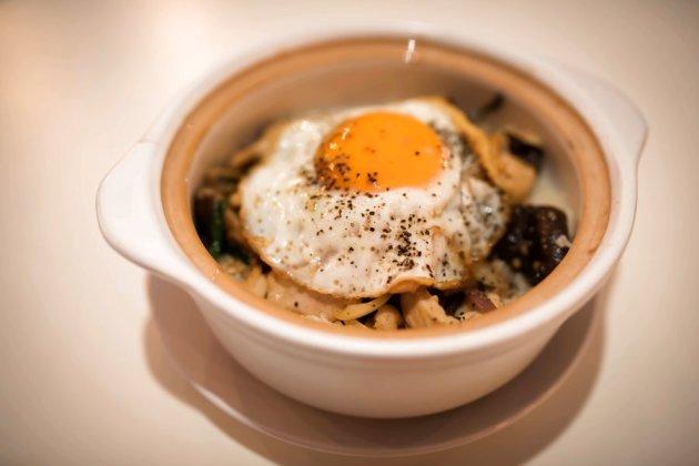 Chicken and Mushroom Claypot