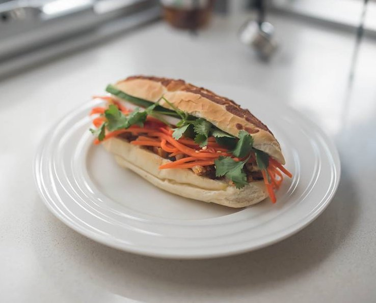 Roast Pork Banh Mi